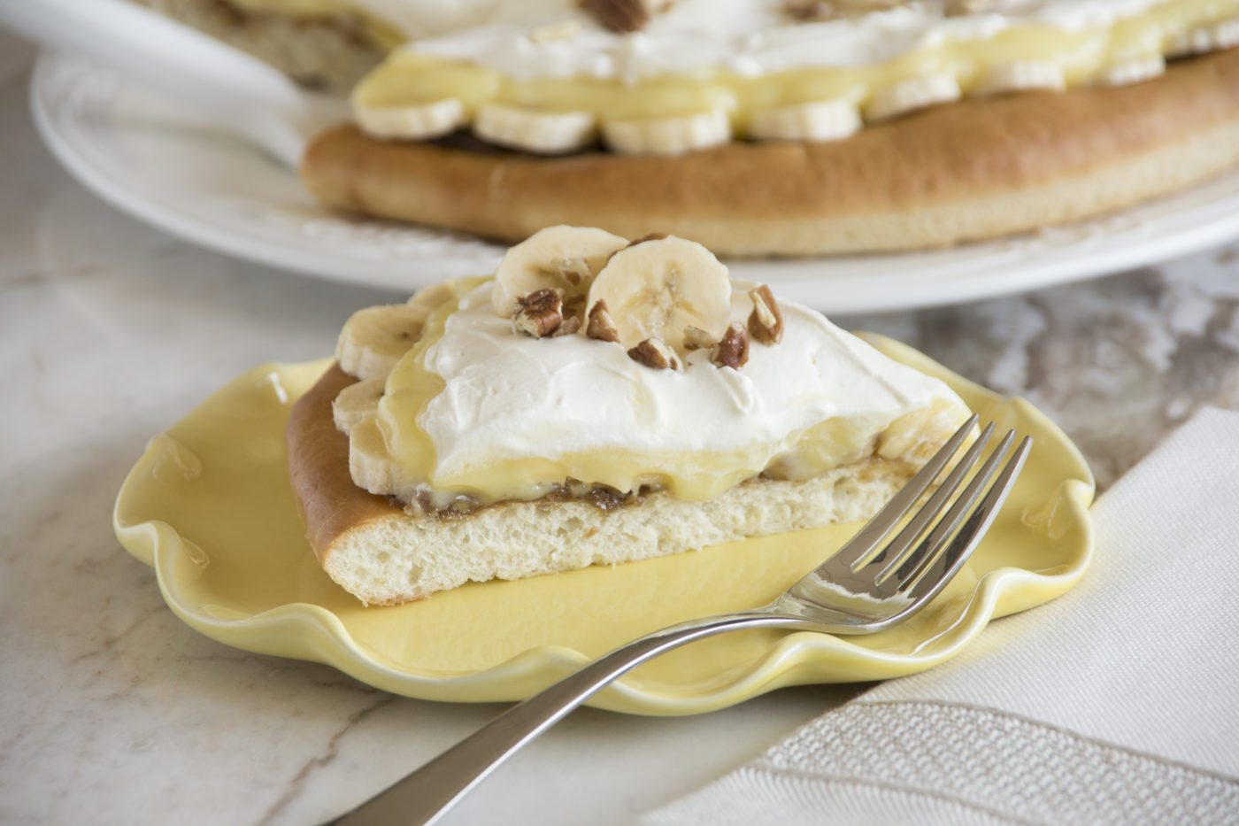 Banana Cream Pizza