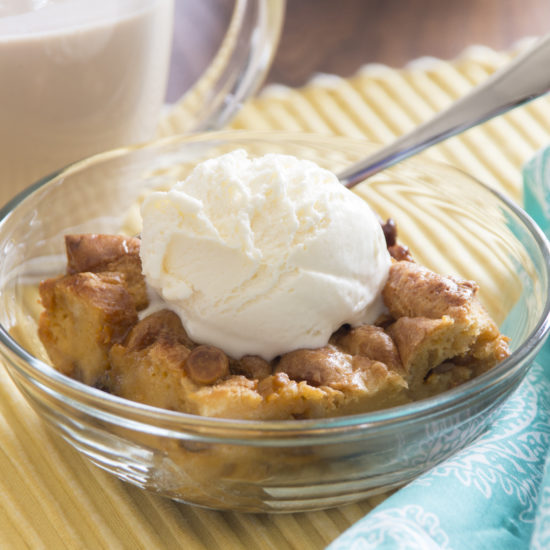 Butterscotch Pecan Bread Pudding