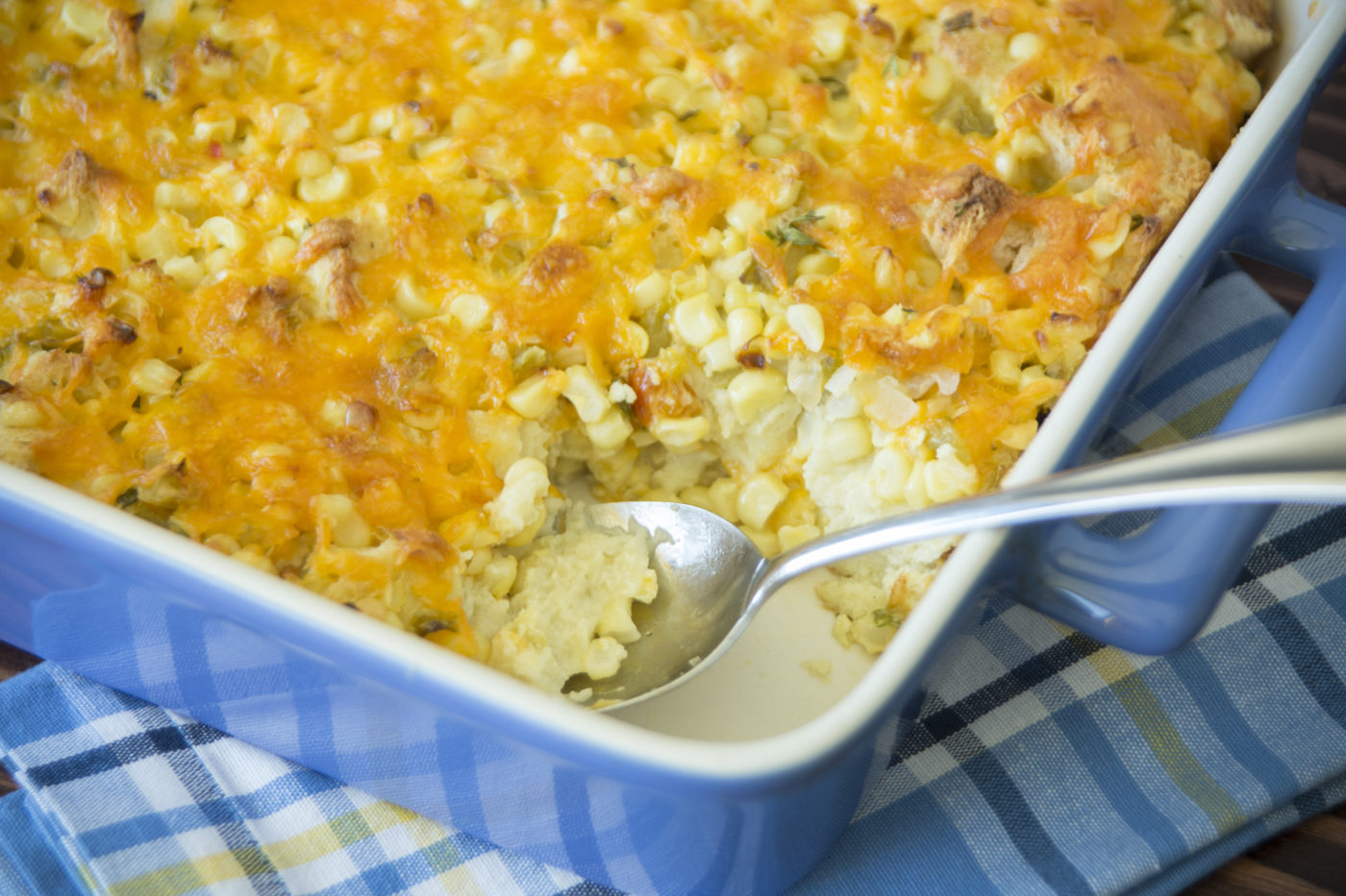 Corn And Cheddar Bake