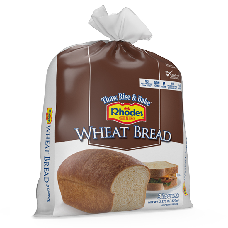 Wheat Bread Rhodes Bake N Serv