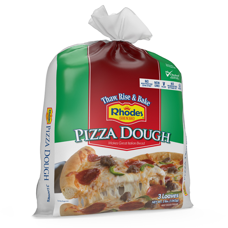 Pizza Dough Rhodes Bake N Serv